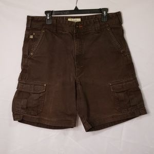 Cabela's Rugged Brown Cargo Shorts
